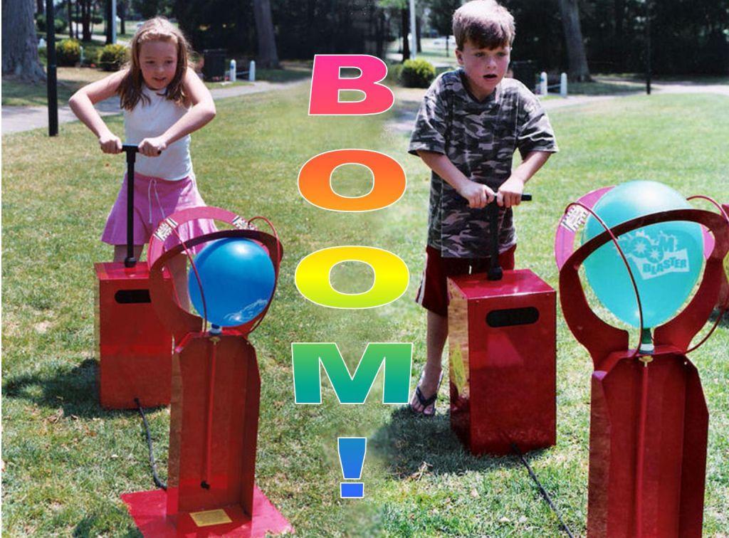Boom blaster balloon popping game