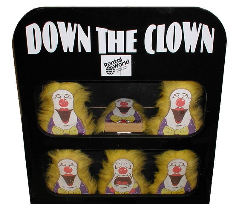 Down the clown game