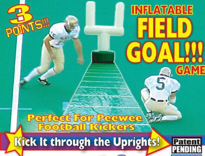 Field goal kick game