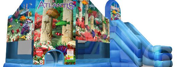 Atlantis inflatable slide combo