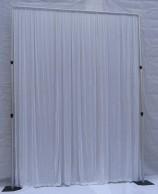 Pipe & Drape Divider white