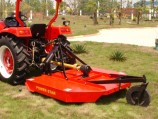 tractor-brush hog