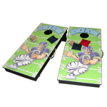 Bean Bag touchdown toss game