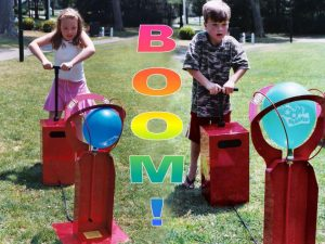 Boom blaster balloon popping game