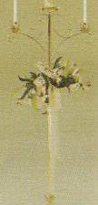 brass unity candelabra