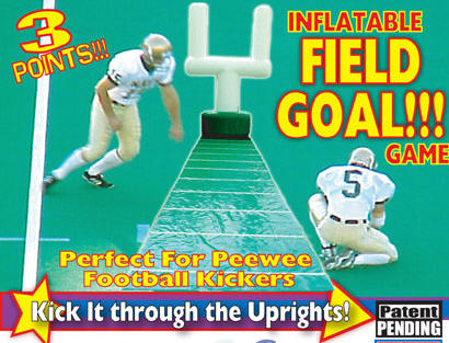 Field goal kick game