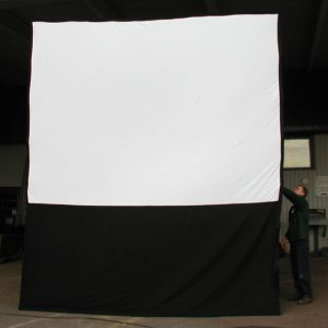 outdoor 9x12 screen