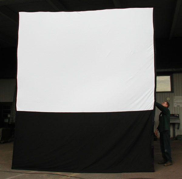 outdoor 9x12 screen