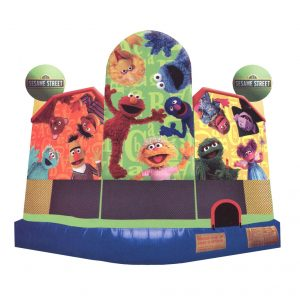 Sesame Street bounce Ride