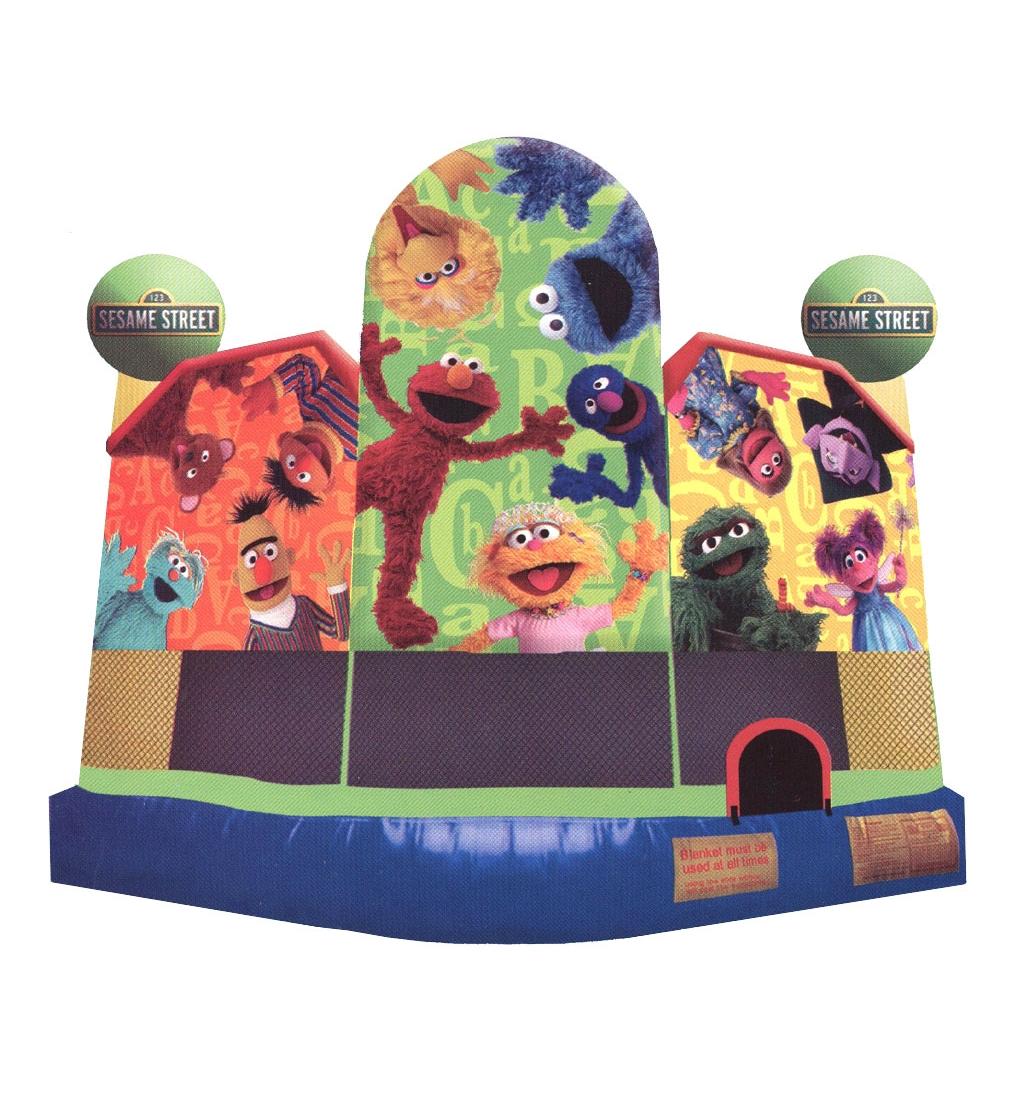Sesame Street bounce Ride