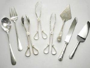 Silver Serving utensils