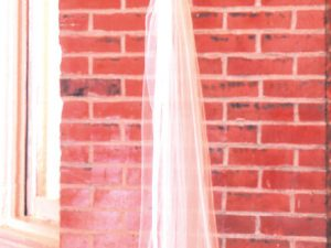 Bronze teardrop wedding candelabra
