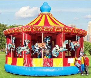 carousel bounce ride 15 foot