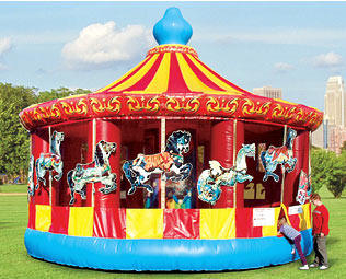 carousel bounce ride 15 foot
