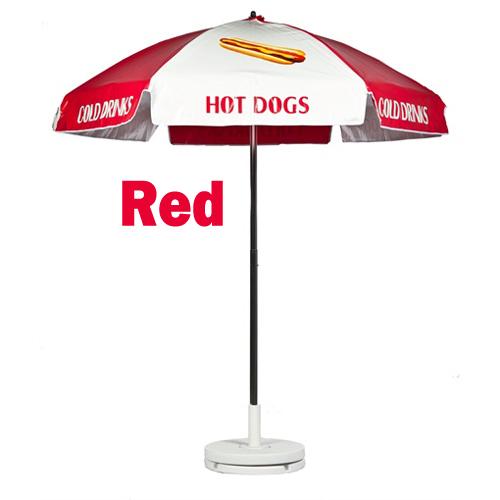 Hot Dog Umbrella