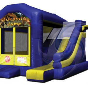 Jurassic Jump inflatable combo ride