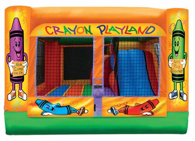 3-n-1 Crayon Playground