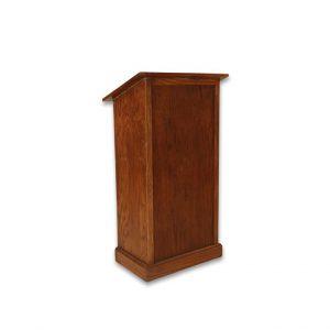 podium - mahogany color