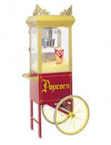 popcorn cart for popcorn popper
