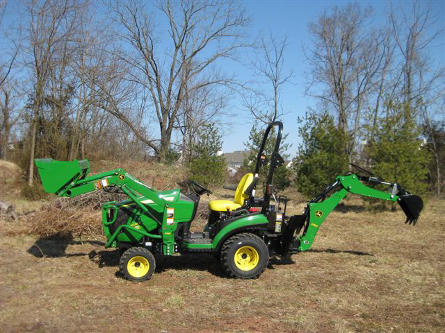 John Deere Backhoe Attachment >> Rental World
