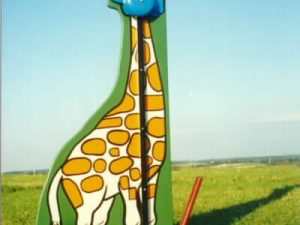giraffe- kiddie striker