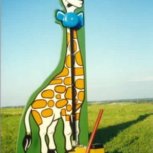 giraffe- kiddie striker