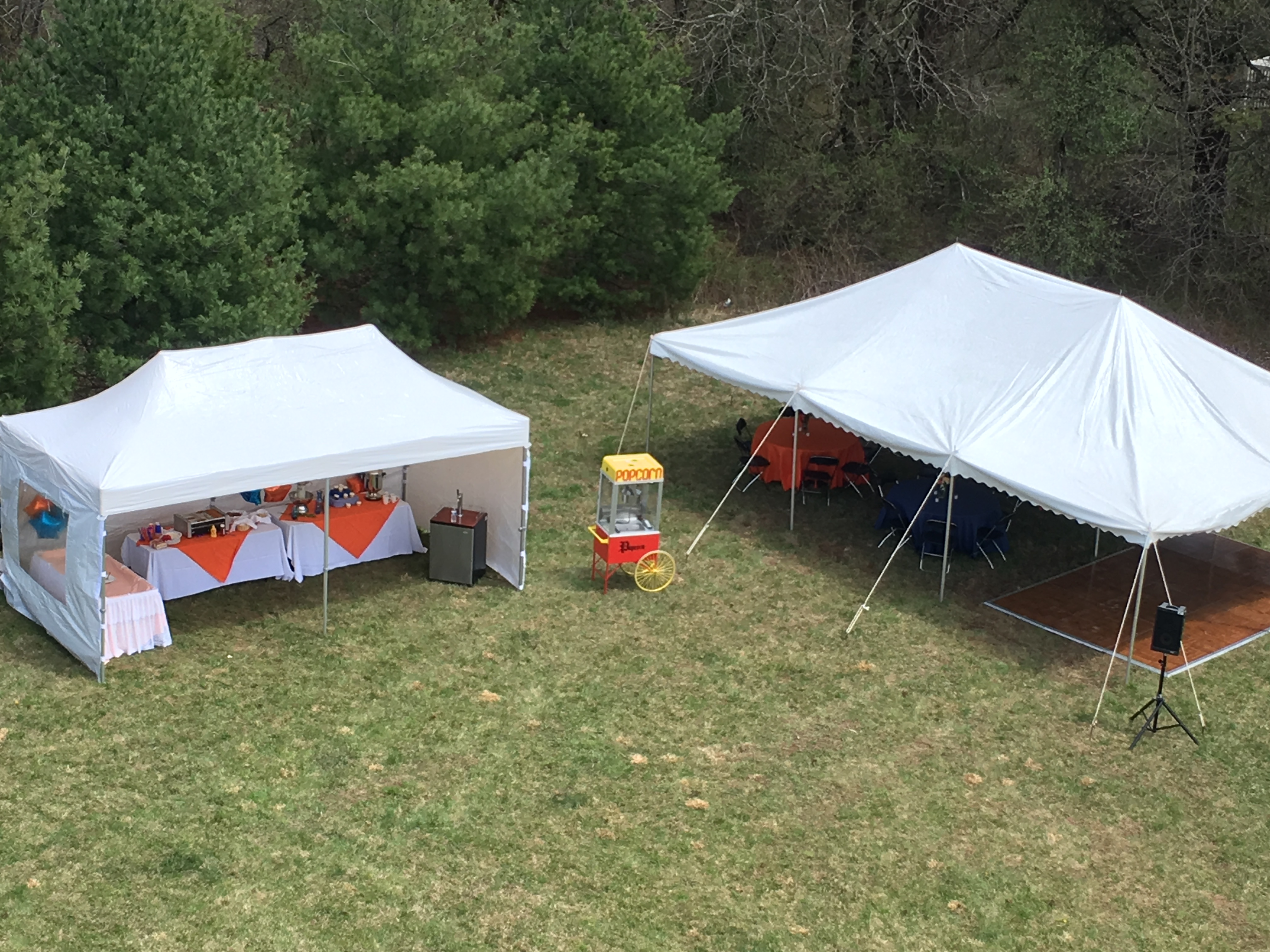 Customer Installed Canopy Tents